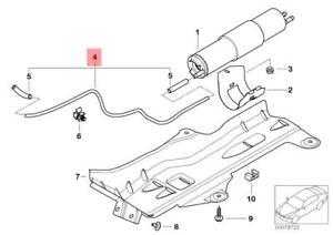 Genuine BMW E46 Fuel Filter Pressue Regulator Vacuum Pipe