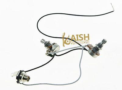 Quality PB Bass Wiring Harness Prewired w/ Jack Socket