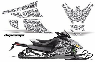 Snowmobile Graphics Kit Sled Decal Wrap For Arctic Cat Z1