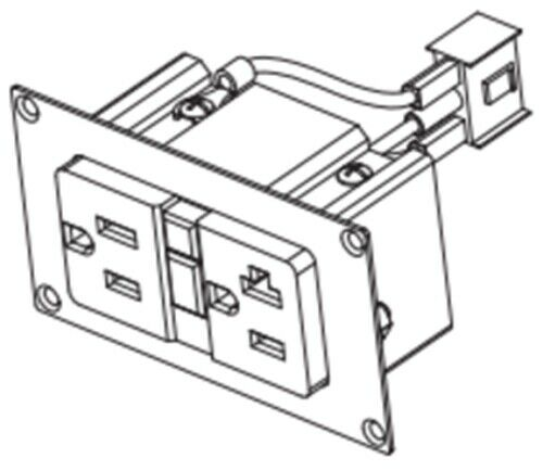 Schneider, GFCI Duplex Socket Kit, Freedom, for XC
