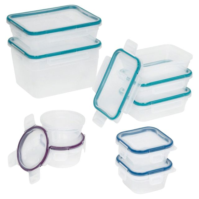 Snapware Total Solution Plastic Food Storage Container Set (18-Piece) 2