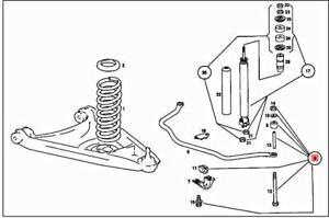 Genuine MERCEDES C107 R107 W114 W115 /8 W114 W115 Repair