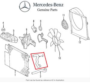 For Mercedes W164 ML63 AMG 6.3L V8 2007-2011 Upper