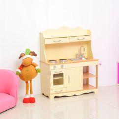 Kids Wooden Kitchen Ikea Plates Play Set Toy Pretend Children Role Large Food S Girls Kid