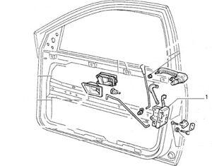 Fiat Tempra Tipo inc16v Serrure De Porte Verrouillage