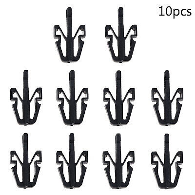 10x Front Grille Grill Rivet Trim Retainer Clips For