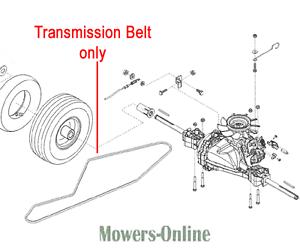 AL-KO Tractor Transmission Drive Belt 13X2805Ld 476680 T16