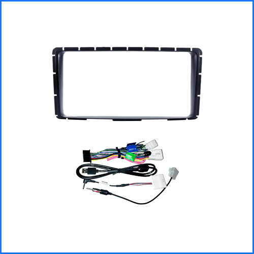 Kenwood DMX9720XDS Car Stereo Upgrade To Suit Toyota Hilux