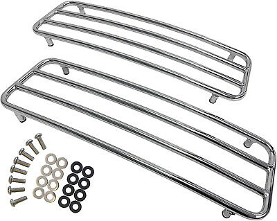 Chrome Hard Saddlebags Top Rails for Harley Davidson