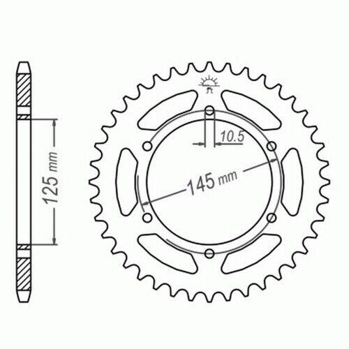 Moto: pièces détachées DID kettensatz YAMAHA XTZ 750 SUPER