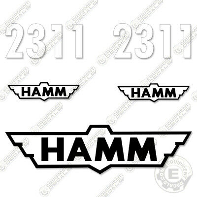HAMM 2311 Decal Kit Compactor Roller Decals 2311 SD