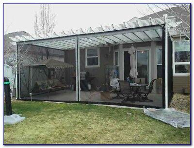 mosquito net netting screen awning canopy patio enclosure new ebay