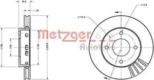 METZGER Brake Disc For MITSUBISHI SMART Colt Czc