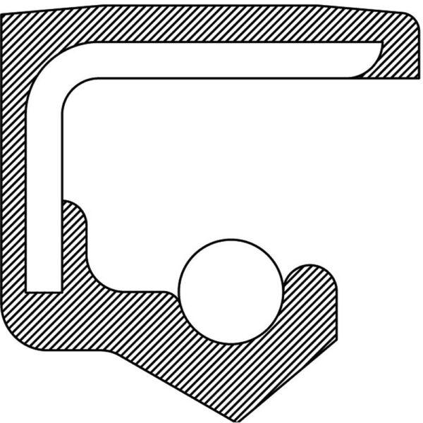 Auto Trans Torque Converter Seal-CVT Trans, M4VA, Honda