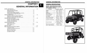 Polaris 2009 Ranger 4x4 Crew 6x6 service manual in 3-ring
