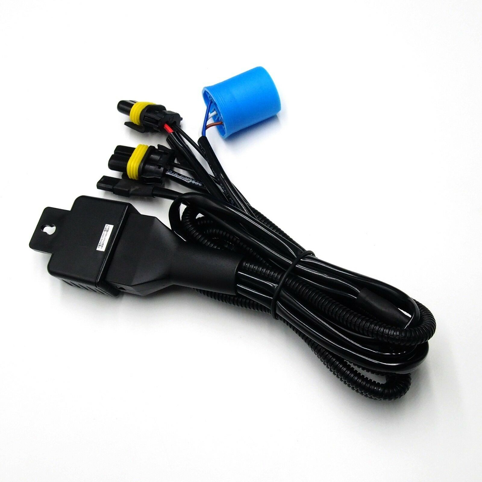 hight resolution of 9004 9007 bi xenon hi lo h l hid kit relay wiring harness controller w fuse