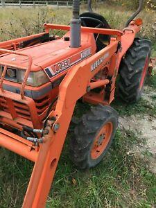 Loader Tractor For Sale : loader, tractor, Kubota, L2850, Tractor, Loader