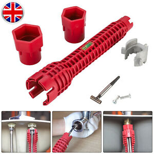 details about 8in1 multifunction faucet sink installer wrench plumbing tool water pipe spanner