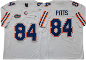 Men's nike jerseys fit true to size. Kyle Pitts Jersey 84# Florida Gators College Sewn Football ...