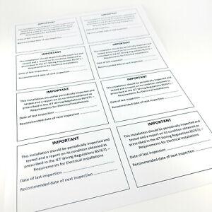 QUALITY VINYL Consumer Unit CU Periodic Test Inspection