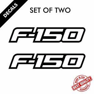 Ford F-150 Decals Vinyl Truck Sticker Decal Set 2009