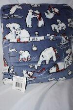 vera bradley beary merry cool blue