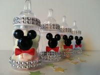 12 Mickey Mouse Fillable Blocks Baby Shower Favors Prizes ...