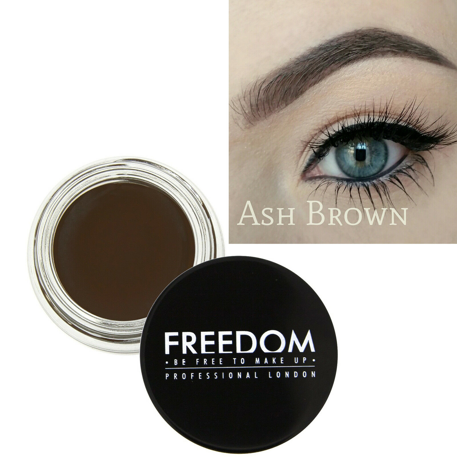 Freedom Makeup Eyebrow Definition HD Brows Pro Brow Pomade