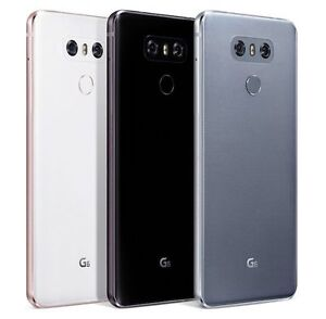 LG G6 64GB LGM-G600K/L/S Korean Model, Factory Unlocked - Black, White, Silver