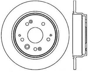 Rear Brake Rotor For 1999-2003 Acura TL 2002 2000 2001