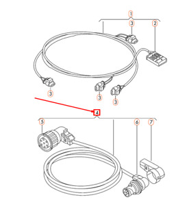 NEW VOLKSWAGEN CRAFTER 2E TAIL LIGHT WIRING HARNESS
