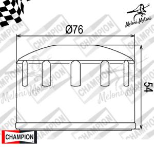 COF 064 oil filter champion bmw r 1200 GS Cast Wheel-Cast