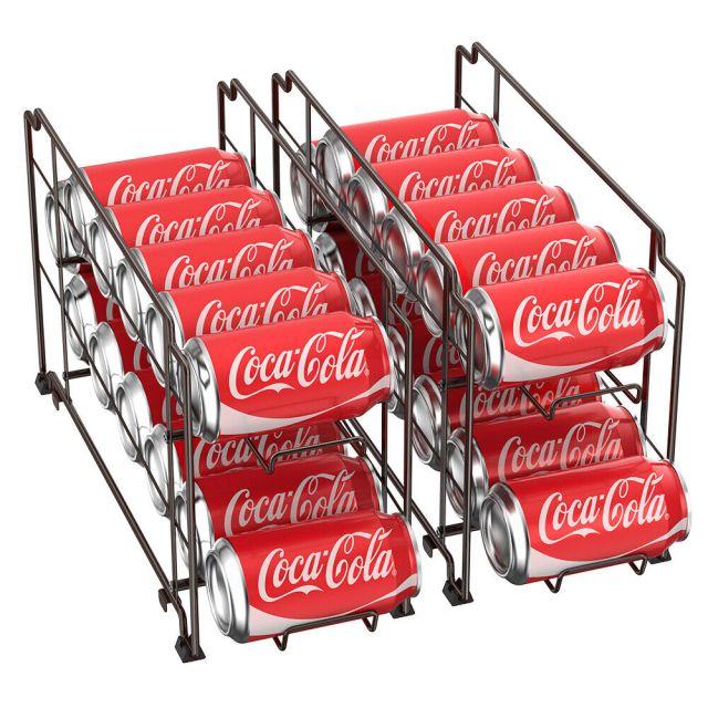 Food Can Rack Holder Kitchen Pantry Organizer Soup Beer Soda Coke Storage Shelf 2