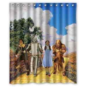 Brand New Wizard Of Oz Shower Curtain 60 X 72 Inch EBay