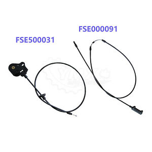 Pair (2) Hood Control Cables For 2005-2009 Range Rover