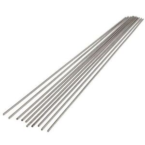 Titanium Ø2.4 mm Rod 500 mm GR2 Welding Wire Shaft Rods(10