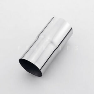 details about stainless steel 2 1 4 2 25 od to 2 1 2 2 5 od exhaust pipe adapter reducer