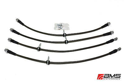 AMS Performance Stainless Steel Brake Lines For 2008-2015