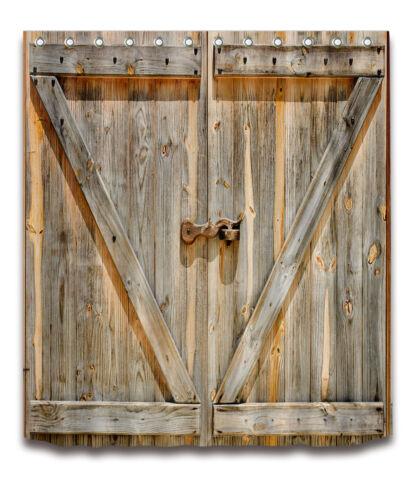 us stock locked rustic wood barn door shower curtain hooks waterproof fabric 72 shower curtains uniforce home garden