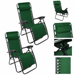 Green Lounge Chair Office With Desk Attached Recliner Patio Pool Beach Outdoor Folding