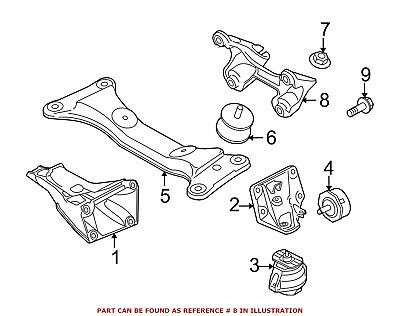 For BMW Genuine Manual Transmission Mount Bracket