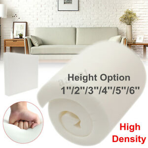 replacement cushions for living room sofa 2 bedroom and sets 1 3 4 5 6 high density seat foam sheet upholstery image is loading 039