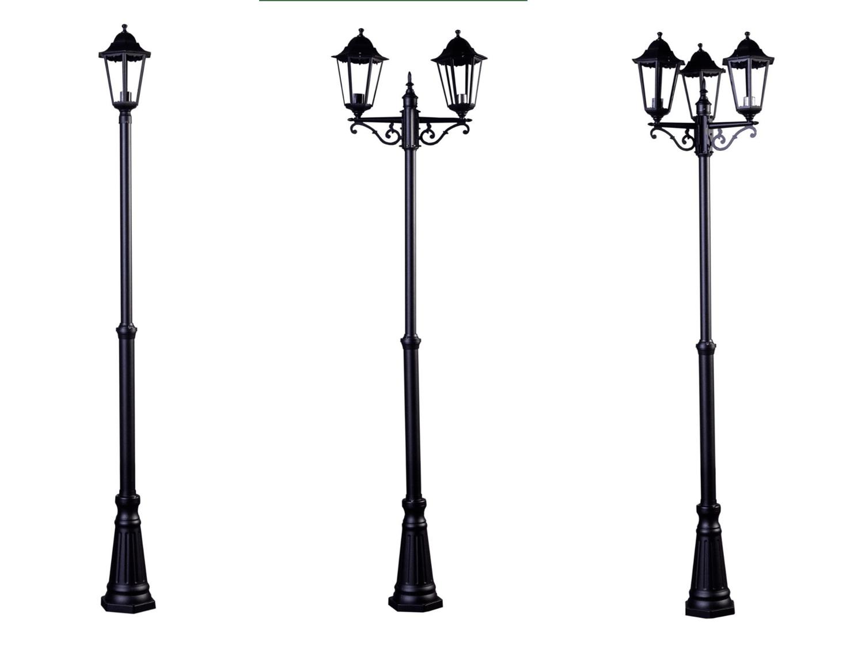2.5m Victorian Garden Lamp Post Lights Outdoor Lighting