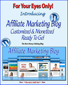 Affiliate Marketing Blog Website Self Updating Amazon *