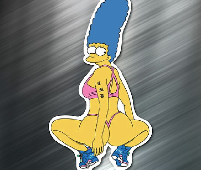 Marge Simpson Sexy Sticker Decal The Simpsons Nikki Laptop New