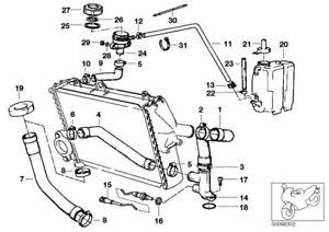 BMW K 75 100 RS RT LT Wasserschlauch Kühler Kühlsystem