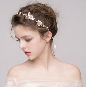 vintage wedding bridal rhinestone headband pearl headpiece hair band accessories ebay