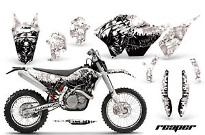 Decal Graphic Kit Wrap + # Plates For KTM SX/XCR-W/EXC/XC