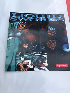 Gza Liquid Swords Zip : liquid, swords, Liquid, Swords, Supreme, Sticker, Tang), Limited!