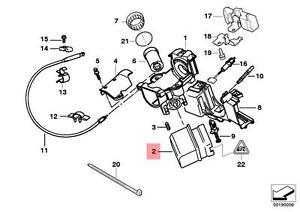 Genuine BMW E38 E39 E46 E53 E83 E83N E85 Ignition Lock